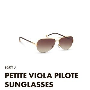 LOUIS VUITTON PETITE VIOLA PILOTE SUNGLASSES